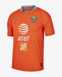 Image is loading Nike-Club-America-Official-2018-2019-Third-Soccer- 41b58ad1a