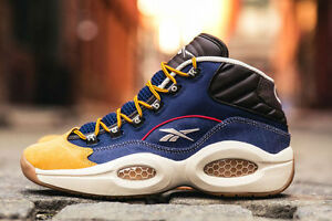 c8cc91074812 Image is loading REEBOK-Question-Sneakers-Dress-Code-Iverson-boys-amp-