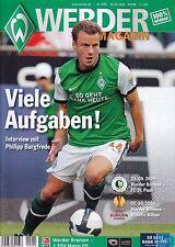 Werder Magazin + 23.09.2009 + Bremen vs. Mainz 05 + St. Pauli + Athletic Bilbao