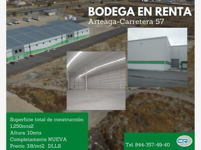 Bodega en Renta en Arteaga Centro