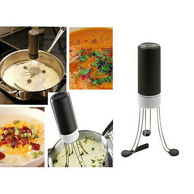 Crazy Food Sauce Auto Stirrer Stir Automatic Hands Free Robo Kitchen Utensil NEW