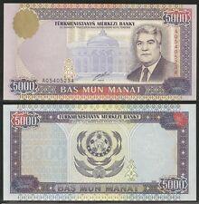 TURKMENISTAN  - 5000 Manat 2000 Pick 12b UNC