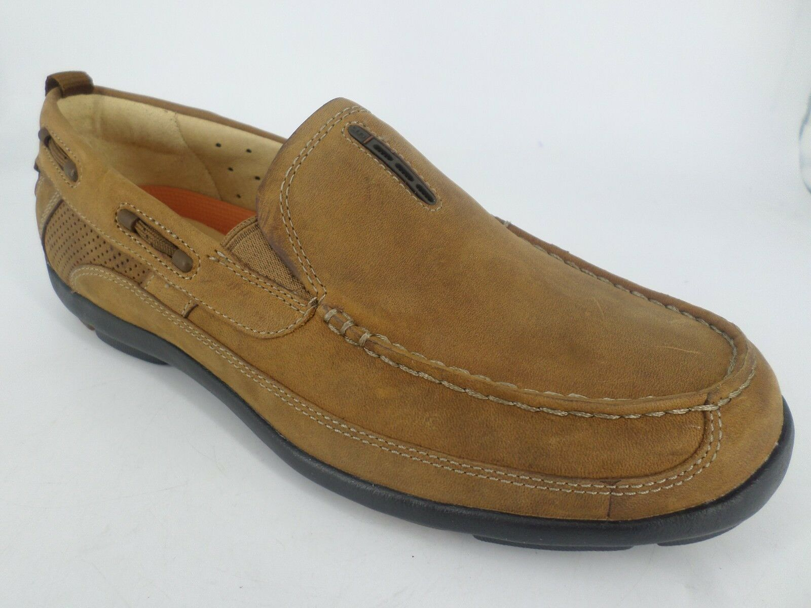 Clarks Mens Unstructurot Slip On schuhe braun   UK 7 EU 41 LN40 88
