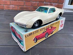 Eldon-Japon-1968-Chevrolet-Corvette-En-Su-Caja-Original-casi-nuevo-trabajo-Raro