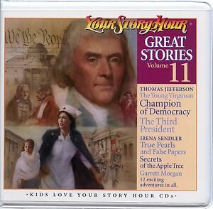 Your-Story-Hour-Great-Stories-Volume-11-on-Audio-CD-THOMAS-JEFFERSON-SLAVERY