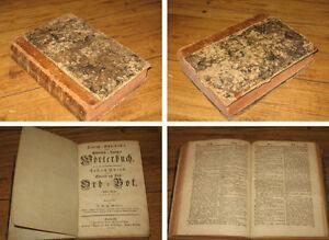 Teutsch-Schwedisches Wörterbuch Ord-Bok - Andra Delen K - Z von 1785 - Deutschland - Teutsch-Schwedisches Wörterbuch Ord-Bok - Andra Delen K - Z von 1785 - Deutschland