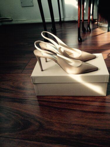 Back Shoes Prada Sling Beige In F0n4qgw