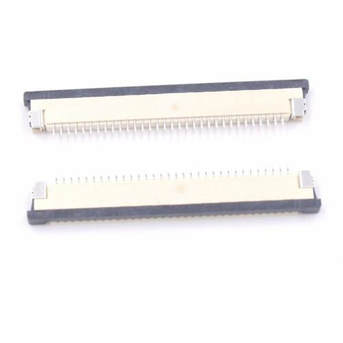 2x  FPC FFC Flat Cable Ribbon Connector Socket 32pin 1.0mm Pitch Laptop Keyboard