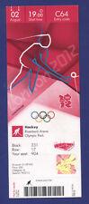 Orig.Ticket  Olympic Games LONDON 2012  -  HOCKEY    BELGIUM - GREAT BRITAIN  !!