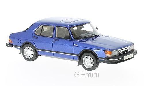NEO 43652 - Saab 900 GLI blu méttuttiisé - - - 1981    1 43 a10cac