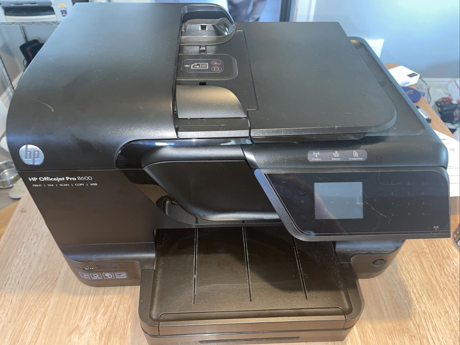 [HP Officejet Pro 8600  Inkjet Scanner  Low page count 1234 Pages