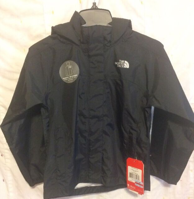 136b863ab The North Face Resolve Reflective Jacket Girls TNF Black XXS