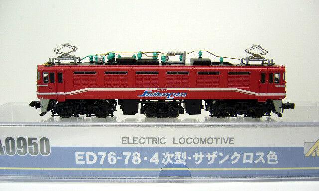 MicroAce MicroAce MicroAce A0950 Electric Locomotive ED76-78 Southern Cross - N 6b8d3e