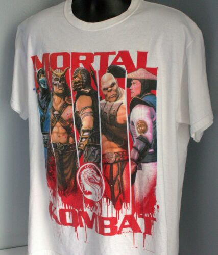 Vintage Warner Brothers Mortal Kombat Graphic T-Sh