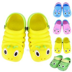 d106eb78a2d3 1-6Y Baby Kids Girls Boys Fashion Summer Beach Sandal Slipper Cute ...