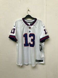 New-York-Giants-Nike-Women-039-s-NFL-Jersey-2XL-Beckham-JR-13-New-with-Defects