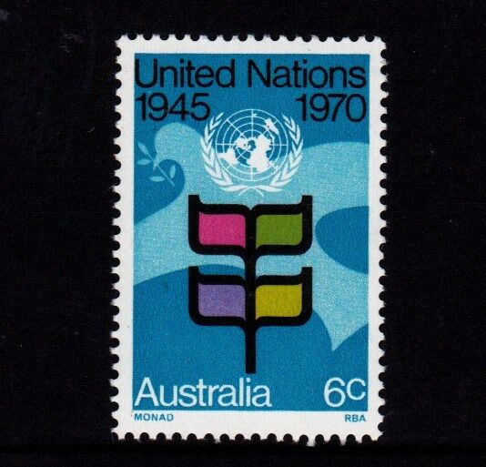 1970 United nations 25th Anniversary MUH