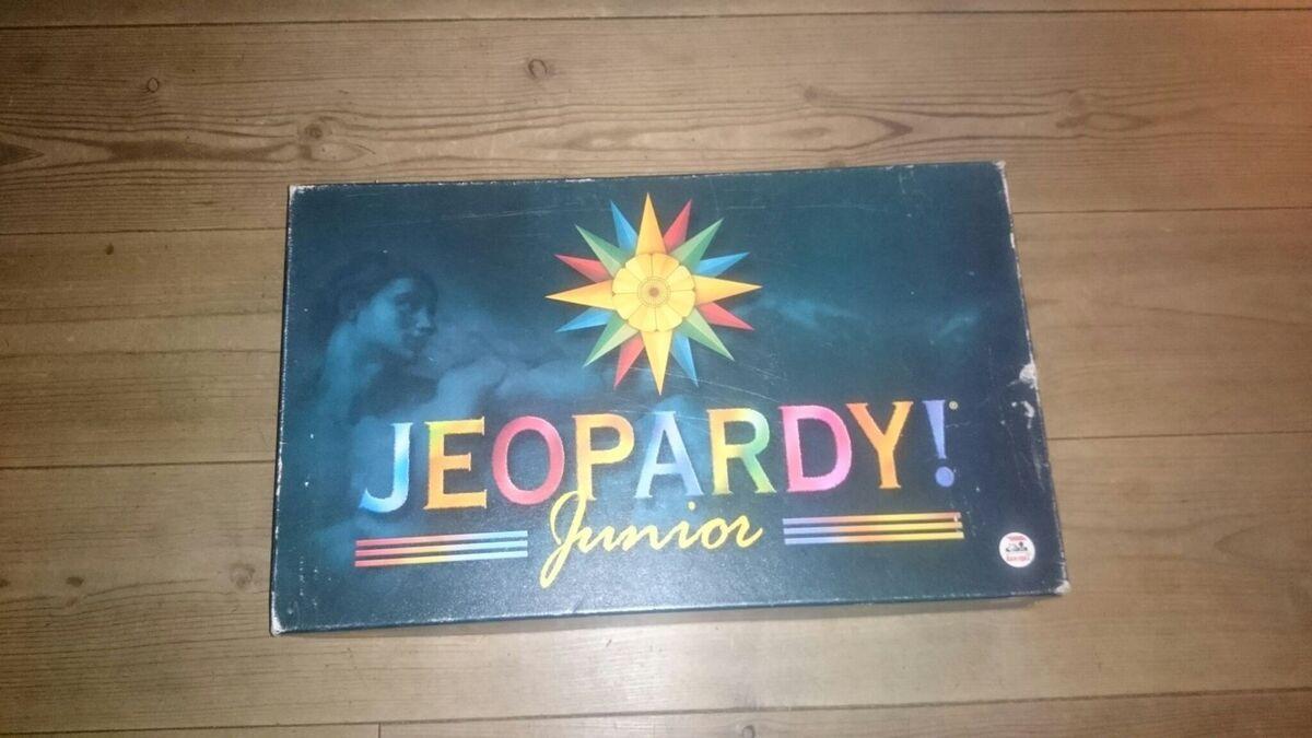 jeopardy junior brætspil
