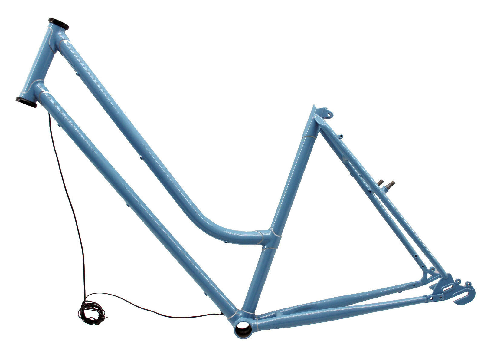 Böttcher Ladies Steel - Frame Nostalgia, 28  , Fh 49 cm, Hub   Chain BSA bluee