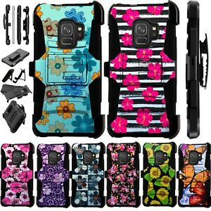 newest ea59e da02e Details about For AT&T AXIA Phone Case Kick Stand Holster Cover Luxguard H8