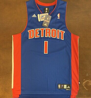 Rare Vintage Adidas NBA Detroit Pistons Allen Iverson Basketball ...