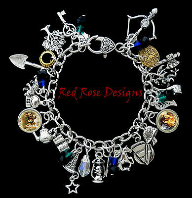 ~THE HOBBIT/THE LORD OF THE RINGS COMBINATION CHARM BRACELET~