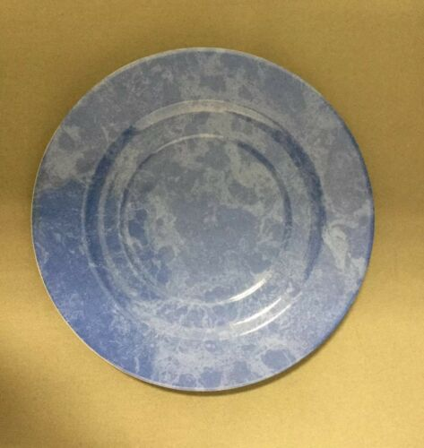Blau Philippe Deshoulieres de Limoges Teller Unterteller