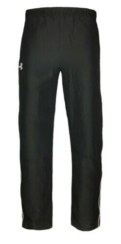 Under Armour Homme Survêtement Bottoms Black Poly UA Track Pantalon