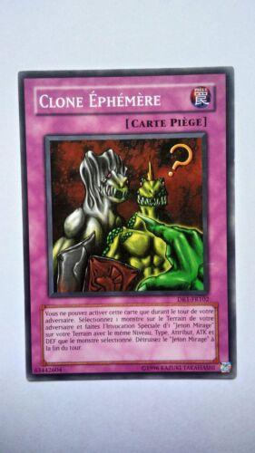 Carte Yu Gi Oh Clone Ephémère DR1-FR102