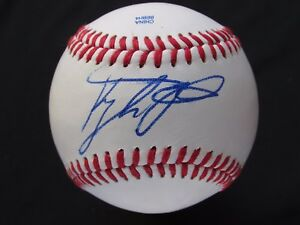 Balls Signed Angels Braves Top Prospect Kyle Kubitza Sweetspot Baseball Proof Coa!!! Sports Mem, Cards & Fan Shop