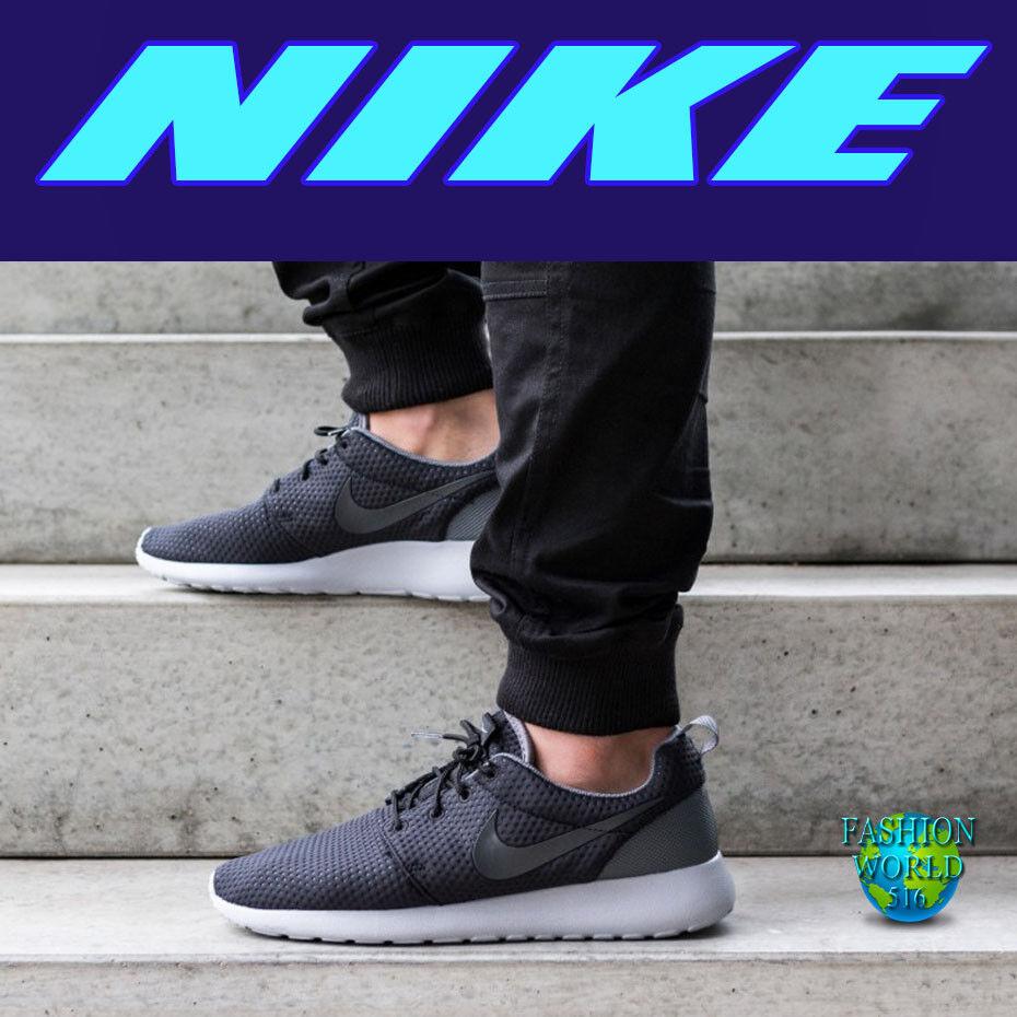 Nike uomo numero 10 roshe uno / se le scarpe nero / uno grigio 844687 002 b98665