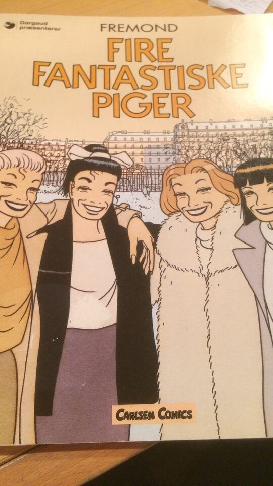 Fire fantastiske piger, Tegneserie