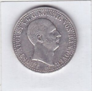 1-Taler-Hannover-1839-Ernst-August-Glueckauf-Clausthal-Ausbeutetaler-AKS131