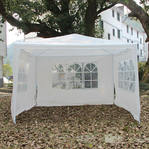10'x10'Canopy Party Wedding Tent Gazebo Pavilion Cater 3 ...
