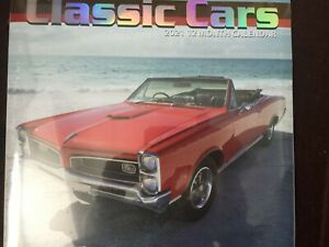 2021 Classic Cars 12 Month Calendar Free Postage To Usa 639277927224 Ebay