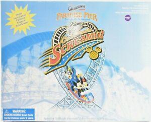 Disney-039-s-CALIFORNIA-ADVENTURE-Paradise-Pier-Screamin-Roller-Coaster-c586