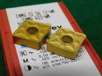 2 Sandvik Cnmg 433 Wm 3005 Carbide Inserts