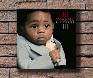 Lil Wayne Tha Carter III Hip Hop Rap Music Album Hot Poster K-403