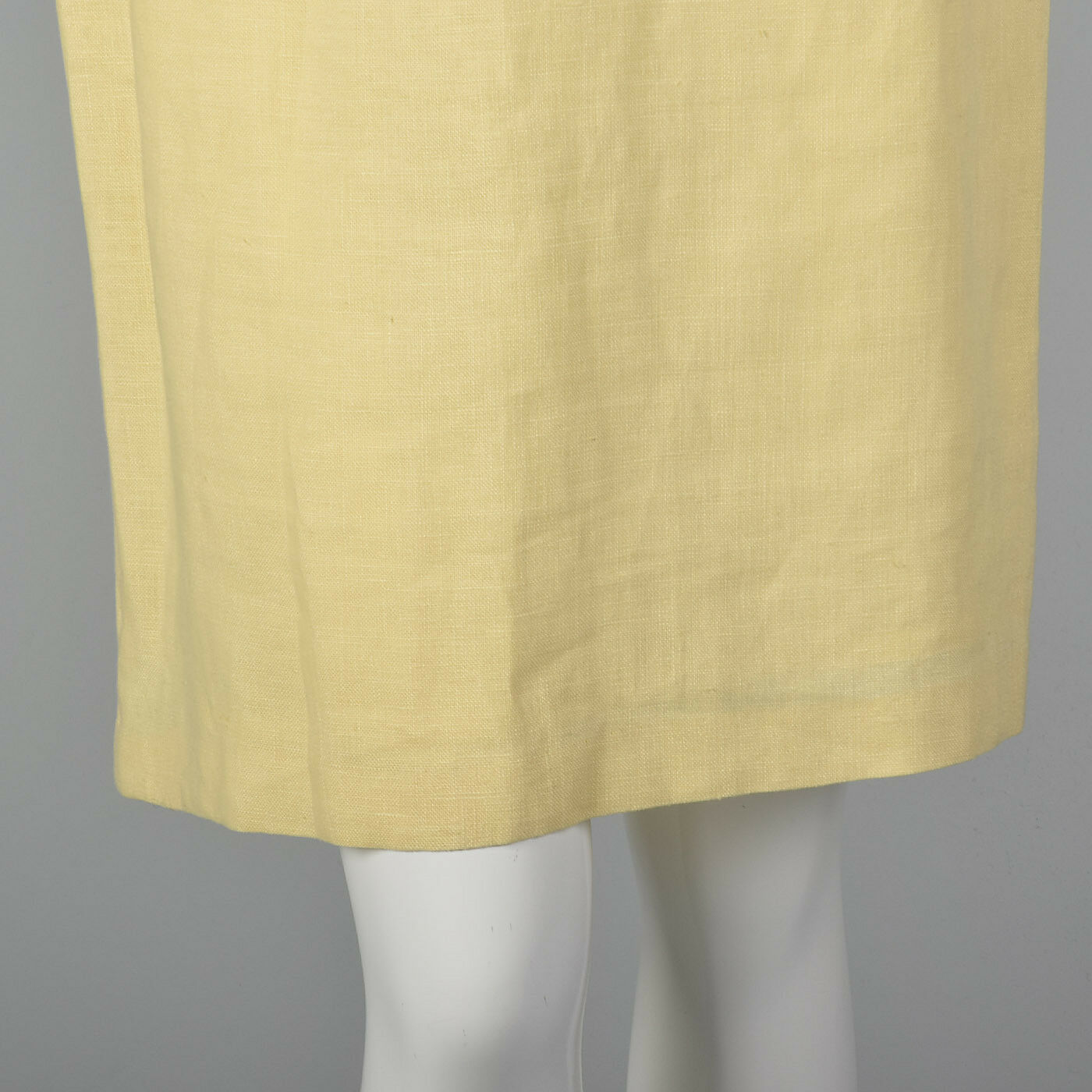 M 1990s Moschino Cheap & Chic Yellow Linen Suit S… - image 9