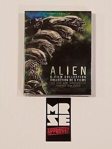 Alien-6-Film-Collection-Blu-ray-Set-Digital-Bilingual-Brand-New-Sealed