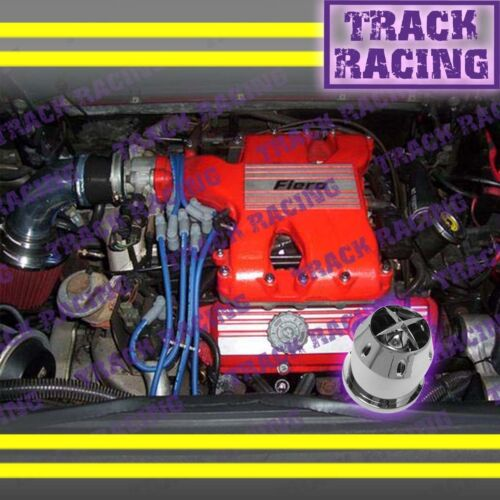 1984 1985 1986 1987 1988 PONTIAC FIERO SE\GT 2.8L V6 AIR INTAKE+CHF Black Red