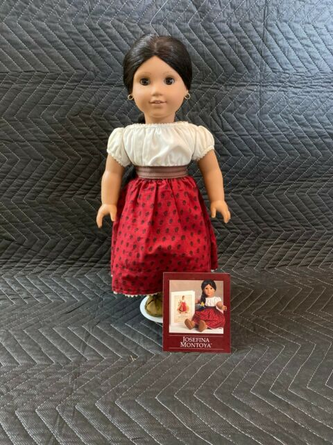 AMERICAN GIRL Josefina by Pleasant Co 1997 + Bedroom Set + Book +Chest (RETIRED)