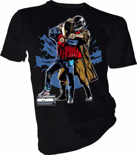 Daft Punk Adult /& Kids T-Shirt Back To The Beat Music