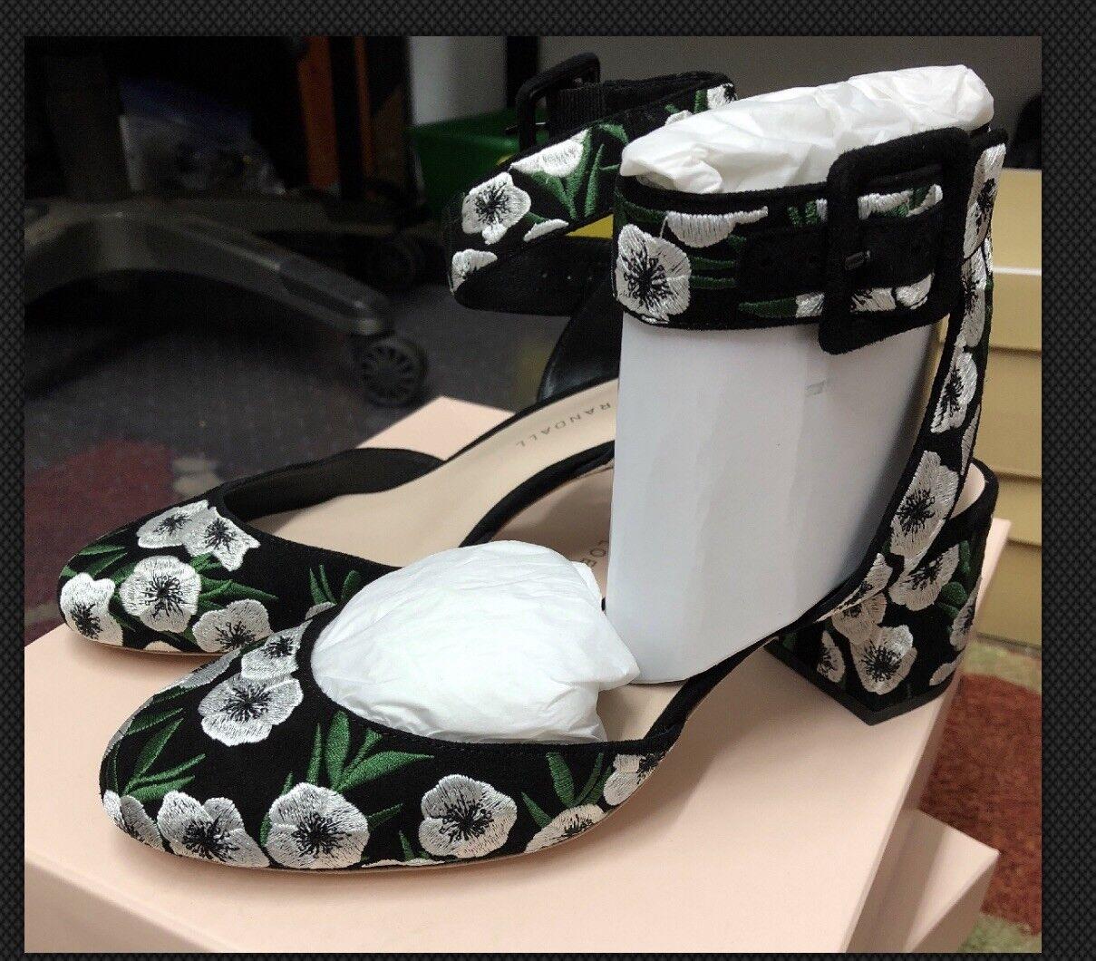Loeffler Randall Cami nero donna scarpe Dimensione  8 Heels (Nuovo Display)  tempo libero