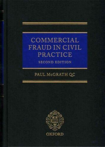 1 of 1 - Commercial Fraud in Civil Practice, McGrath QC, Paul, Very Good, Hardcover