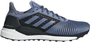 Détails sur Adidas Solar Glide ST Boost pour Homme Chaussures de course gris afficher le titre d'origine