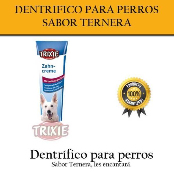 Dentífrico Sabor Ternera Para Perros Y Cachorros Dientes Perro