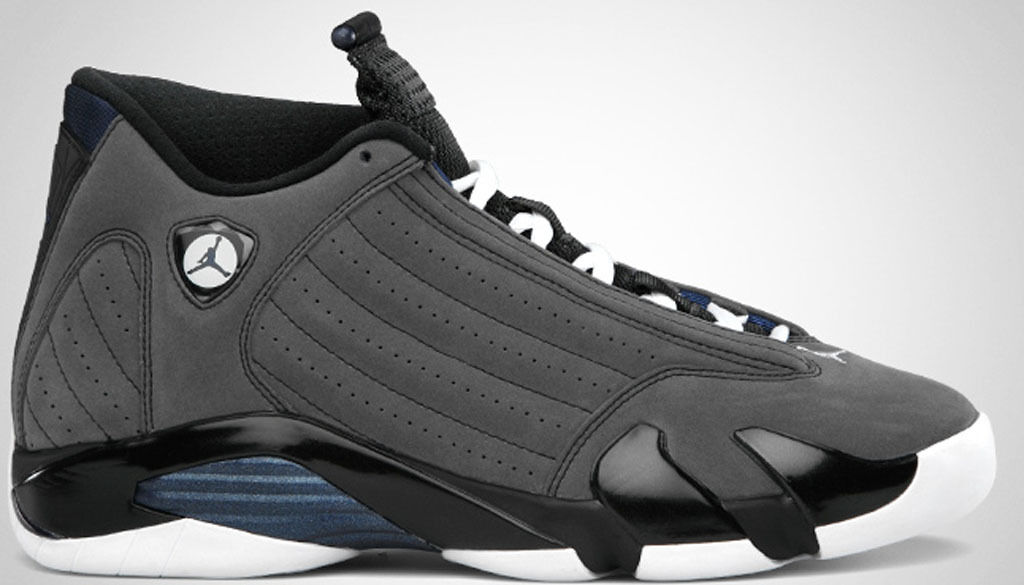 2011 Nike Air Jordan 14 XIV Retro Graphite Size 13.5. 311832-011 1 2 3 4 5 6 13