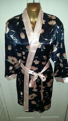 Da Donna Corto Stile Kimono Vestaglia Con Cintura-mostra Il Titolo Originale Reputazione In Primo Luogo