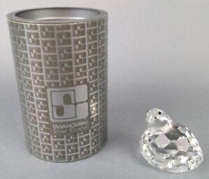 Swarovski-Crystal-Partridge-Bird-7625-NR-050-000-w-Box-Certificate-Lot-J29